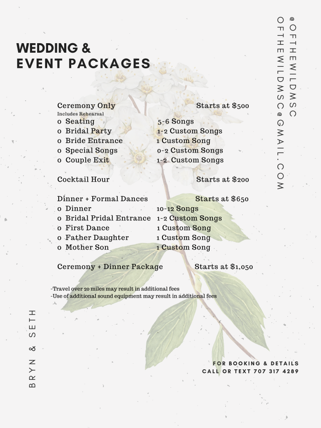 Wedding Packages-1